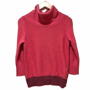 Patagonia Wool Blend Cowl Neck Sweater Small